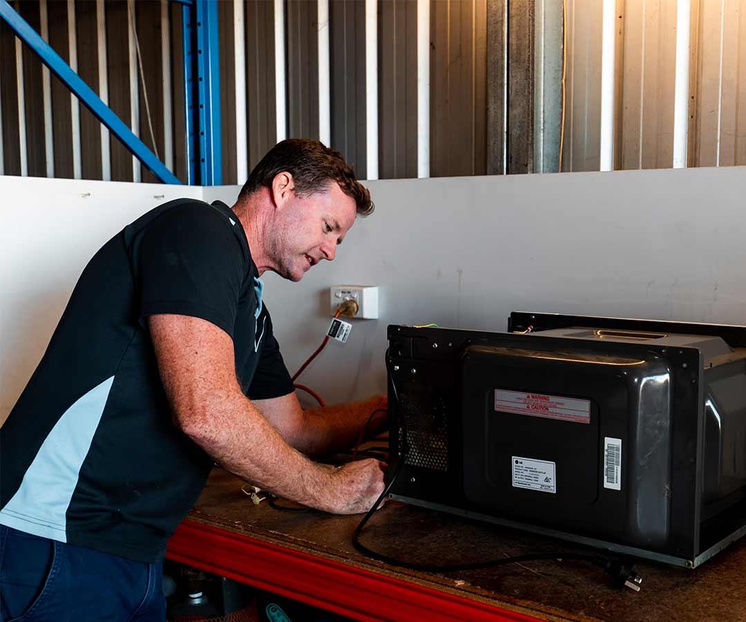 Fixing broken appliance